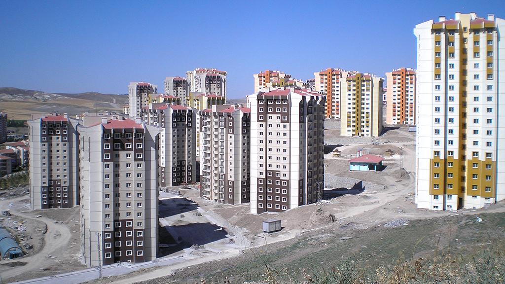 Ankara Yenimahalle Turkuaz Vadisi Toki Evleri