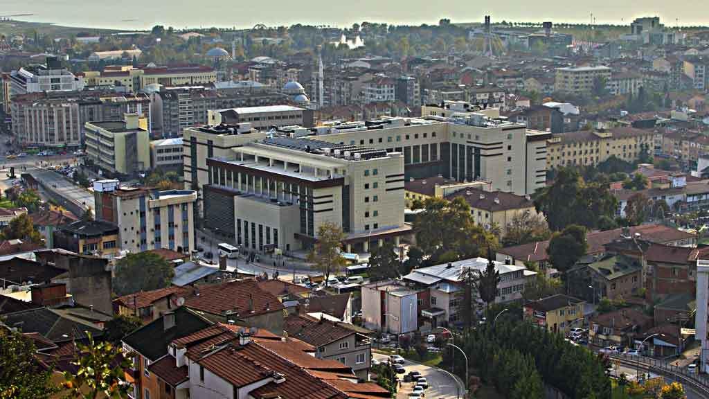 Kocaeli Devlet Hastanesi inşaatı time lapse tekniği ile görüntülendi
