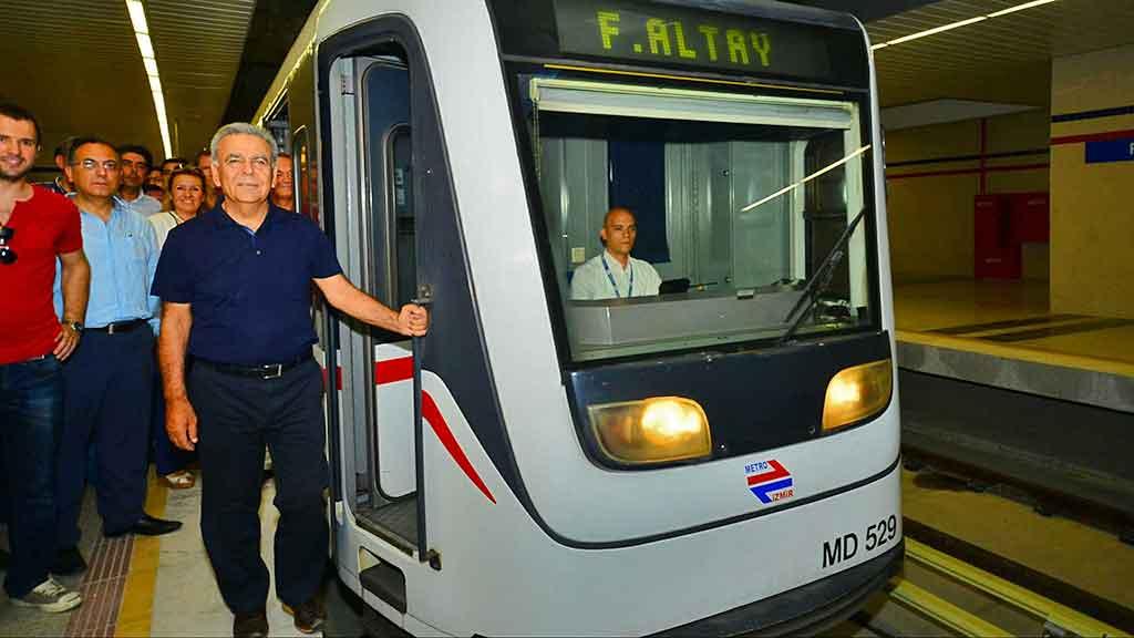 İzmir fahrettin Altay Narlıdere metrosu evdenhaberler