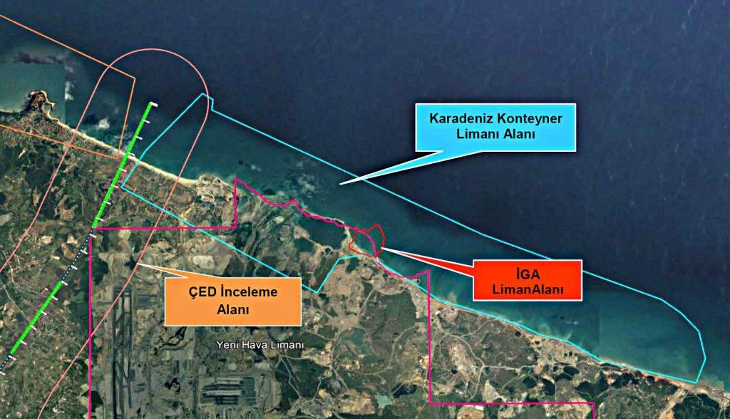 Kanal İstanbul Karadeniz konteyner limanı