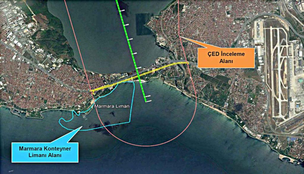 Kanal istanbul Marmara konteyner limanı