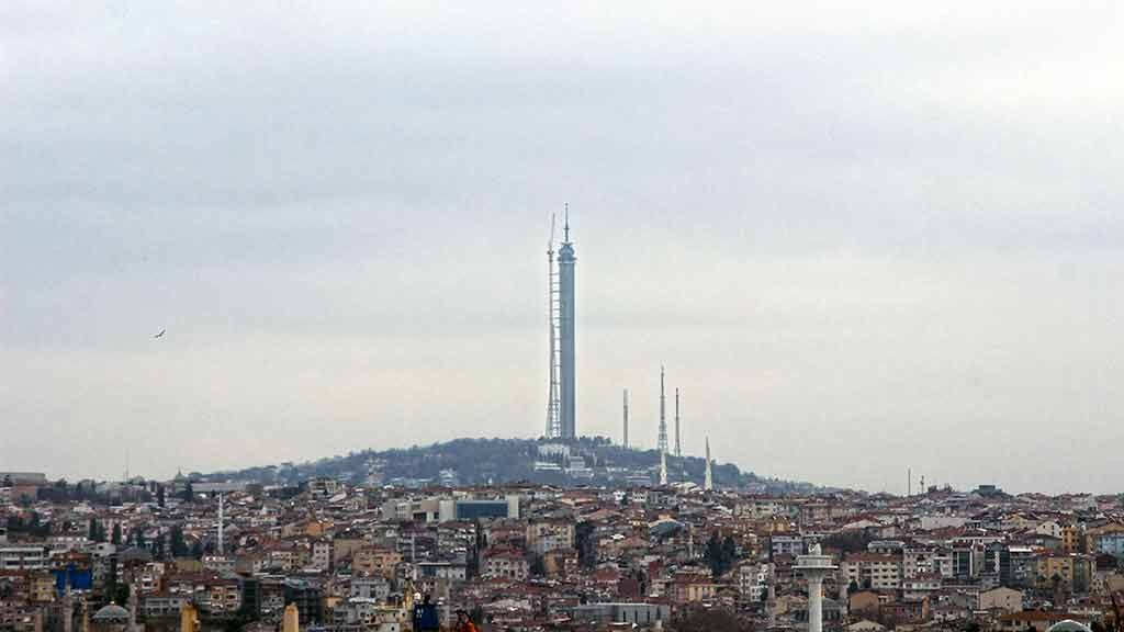 Çamlıca Tv Kulesi son durum!