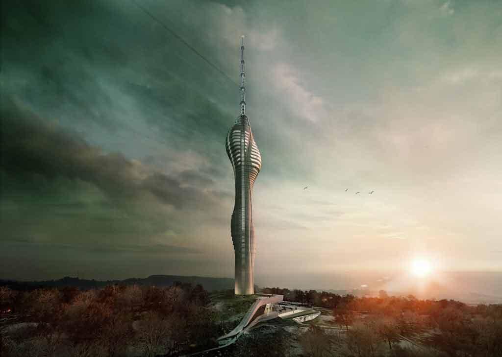 Çamlıca TV Kulesi bittiğinde nasıl olacak?