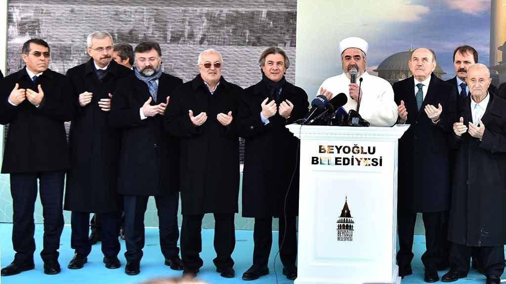 Taksim Camii ne zaman bitecek?