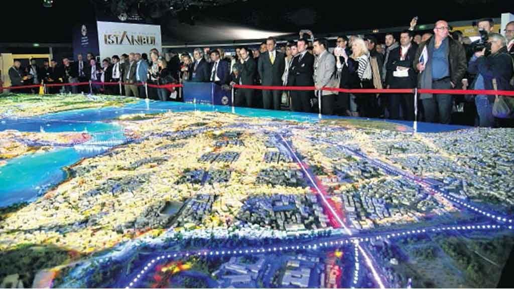 İstanbul'un vitrin projeleri MIPIM'de görücüye çıkıyor