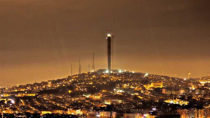 Çamlıca TV Kulesi nasıl yapıldı? İşte Çamlıca TV Kulesi time lapse videosu!