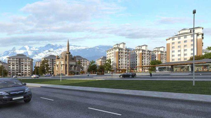 Toki 100 bin sosyal konut Erzurum