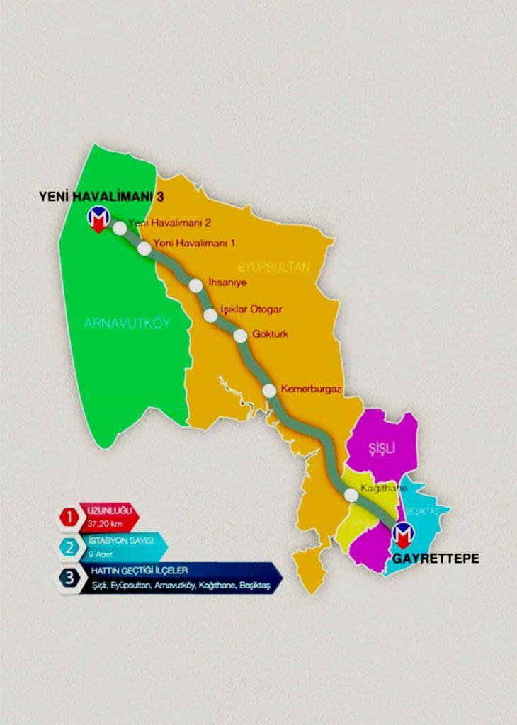 Gayrettpe-Yeni Havalimanı metro hattı ne zaman açılacak ?