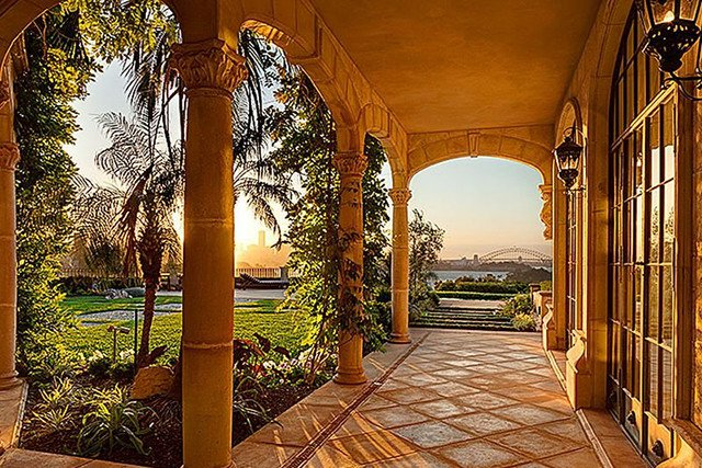 milyon dolarlık villa