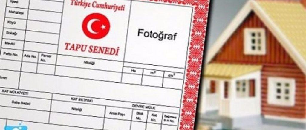 tapu işlemleri için gerekli belgeler 2019 evdenhaberler