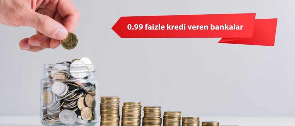 0.99 altı faiz veren bankalar