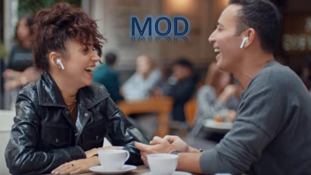 Mustafa Sandal ve Zeynep Bastık'ın yaptığı mod adlı şarkı yayında