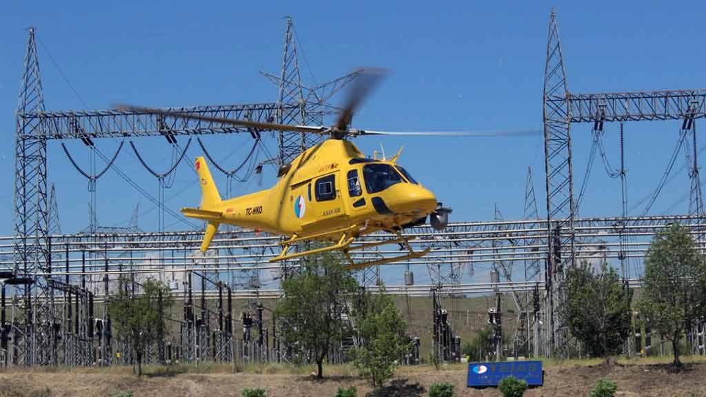''Helikopter düştü'' ihbarı Aydın'ı ayağa kaldırdı