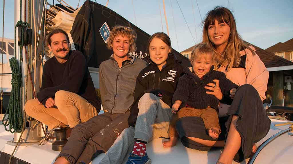Greta Thunberg ABD'den İspanya'ya tekneyle gidecek