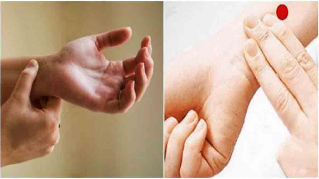 hızlı uyuma yolları bileğin üç parmak altı masaj noktası