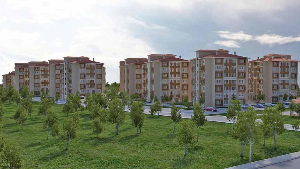 Toki 100 bin sosyal konut Karaman