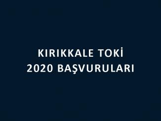 Kırıkkale Toki 2020 başvuruları nereye yapılacak? 100 bin sosyal konut başvuru şartları neler? Toki Projeleri daire fiyatları ne kadar?
