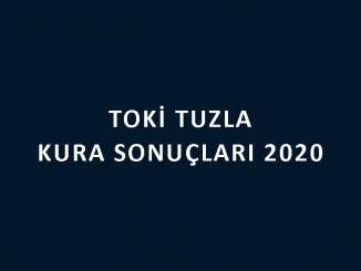 Toki Tuzla kura sonuçları 2020! İşte 100 bin sosyal konut kampanyası İstanbul Tuzla Toki Evleri 2+1 ve 3+1 kura sonuçları sıralı tam listesi